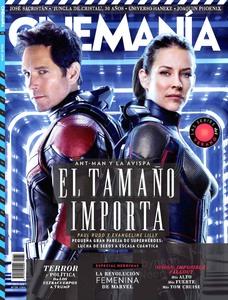 Evangeline Lilly -                         Cinemania Magazine (Spain) July (2018).