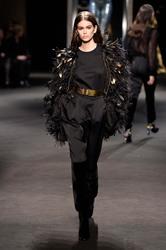 Kaia Gerber - Alberta Ferretti Fashion Show in Milan 2/21/18