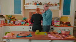 Bryce Dallas Howard - Cooking With Jeff Goldblum - July 2018