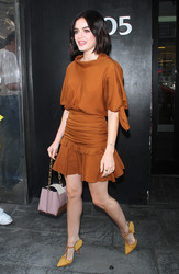 Lucy Hale - Leaving 'Good Day NY' in NYC 9/5/18