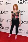 Christina Hendricks - Attends 'Egg' Film Premiere At The Tribeca Film Festival In New York  (4/21/18)