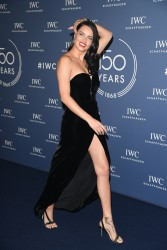 Adriana Lima - IWC Schaffhausen at SIHH Dinner in Geneva 1/16/18