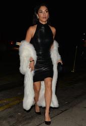 Nicole Scherzinger - Out in Paris 3/3/18