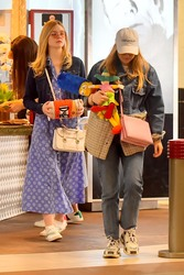 Elle & Dakota Fanning - At Universal Studios 2/23/19