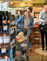 Alessandra Ambrosio - Shopping at Whole Foods in LA 4/1/18