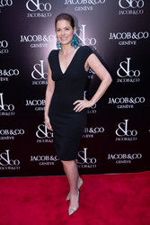 Debra Messing - Grand Re-Opening of the Jacob & Co. Flagship Store in NYC 4/26/18