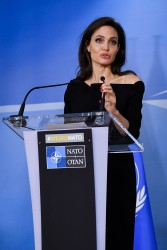 Angelina Jolie - At NATO Headquarters in Brussels 1/31/18