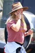 Hilary Duff - Going to the zoo in LA 6/20/18