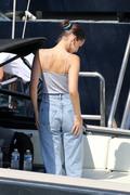 Bella Hadid boarding a yacht in Monaco 05/25/2018593717876374514