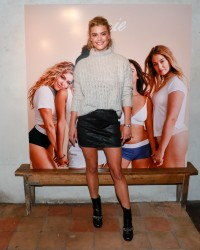 Nina Agdal - AerieREAL Role Models dinner party in NYC 1/25/18