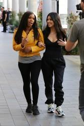Kourtney Kardashian - At Topanga Mall 1/11/18