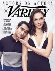 Gal Gadot -                Variety Magazine November 2017 With Kumail Nanjiani.