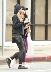 Elizabeth Olsen - Out in LA 1/19/18