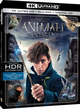 Animali fantastici e dove trovarli (2016) Full Blu-Ray 4K 2160p UHD HDR 10Bits HEVC ITA DTS-HD MA 5.1 ENG TrueHD 7.1 MULTI