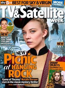 Natalie Dormer -                              TV&Satellite Week Magazine (UK) July 7th (2018).