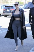 Kim Kardashian - Out for lunch in LA 2/8/18