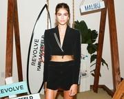 Kaia Gerber - Karl Lagerfeld x Revolve launch in LA 8/30/18