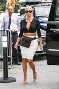 Kim Kardashian - Leaving the Plaza Hotel in NYC | September 8th, 2017