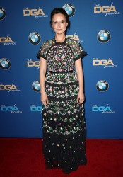 Milana Vayntrub at the 70th Annual Directors Guild of America Awards in Beverly Hills - 2/3/18