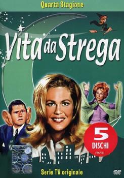 Vita da strega - Stagione 4 (1967-1968) 4xDVD9 Copia 1:1 ITA-ENG-ESP-FRE-GER