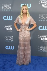 Kaley Cuoco - The 23rd Annual Critics' Choice Awards in Santa Monica 1/11/18