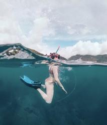 Maisie Williams in a Bikini in Seychelles - 6/27/19 Instagram