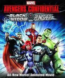 机密复仇者:黑寡妇与惩罚者 Marvel Avengers Confidential: Black Widow & Punisher_海报