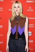 Elle Fanning -  'I Think We're Alone Now' Premiere at the 2018 Sundance Film Festival in Park City 1/21/18
