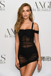 """Josephine Skriver - """"ANGELS"""" By Russell James Book Launch And Exhibit in NYC 9/6/2018 5c3fb6967292654"""
