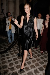 Karlie Kloss - leaving the Vogue dinner in Paris during the Fashion week, Paris, France, 7/4/2018