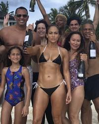 Jennifer Lopez in a Bikini - 7/24/18 Instagram