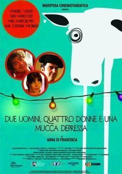 Due Uomini, Quattro Donne E Una Mucca Depressa (2015) DVD9