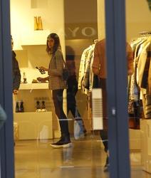 Kaia Gerber - Shopping in Paris 9/24/18