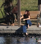 Selena Gomez at Lake Balboa park in Encino 02/02/201835f45d737640923