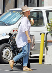 Minka Kelly - Out in Beverly Hills 8/23/18