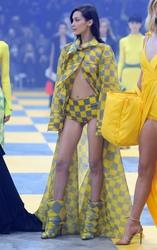 Bella Hadid - Off-White Fashion Show in Paris 2/28/19