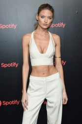 Martha Hunt - Spotify's Best New Artist Party in NYC 1/25/18