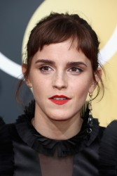 Emma Watson - 75th Annual Golden Globe Awards in Beverly Hills 1/7/18