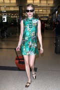 Emma Roberts - At LAX Airport 7/3/18