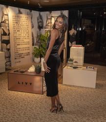 Jasmine Tookes - Victoria's Secret x LIVY Launch in London 2/19/19