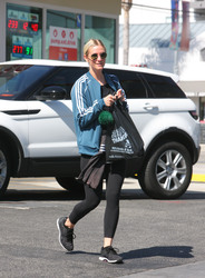 Ashlee Simpson - Leaving the gym in LA 5/8/18