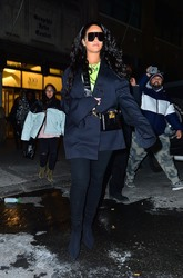 Rihanna - Out in NYC 1/14/19
