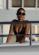 Olivia Culpo - Bikini candids on a yacht in Miami 12/30/18