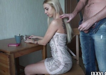 Slender Blonde Wife does Great Sex in the Kitchen 8d0ecb1047053114