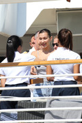 Bella Hadid boarding a yacht in Monaco 05/25/2018d20bef876374734