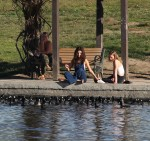 Selena Gomez at Lake Balboa park in Encino 02/02/2018cbe649737642793