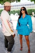 Kim Kardashian - Louis Vuitton SS19 Men's Wear Fashion Show in Paris 6/21/18
