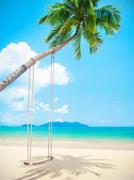 Тропический остров и пляж / Beautiful tropical island and beach 5eedd31190118054