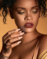 Rihanna - Fenty Beauty 2018 Shots (7/26/18)