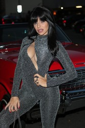 Vida Guerra - In Low-cut Catsuit At The Writers Guild Theatre in Beverly Hills (6/29/18)